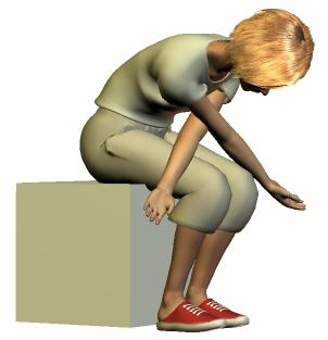 肩甲骨と背中のストレッチ2